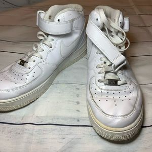 Men's high top air force ones